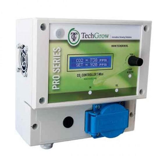 Controlador de CO2 T-Mini con sensor integrado TechGrow