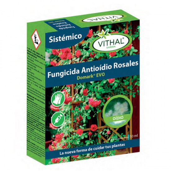 Fungicida Antioidio Sistémico-Rosales Domark EVO Vithal Garden